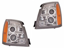 2004 - 2009 CADILLAC SRX HEAD LAMP W/O HID TYPE LEFT AND RIGHT PAIR SET