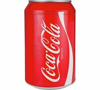 Coca Cola10Litre Coke Can Fridge Bedroom Or Store It Under Your Desk With Plenty