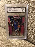 RJ Barrett Rookie Pink Pulsar 2019 Prizm Draft Graded 10 NY Knicks