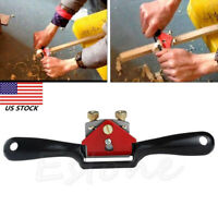 "9"" Metal Woodworking Blade Spoke Shave Manual PlanerDeburring Hand Tool US"