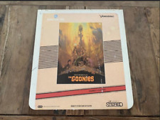 The Goonies CED - Capacitance Electronic Disc System *Rare