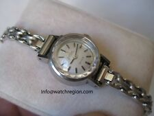 RARE OMEGA LADIES DE VILLE SILVER STARS DIAL AUTOMATIC WATCH 17.5MM