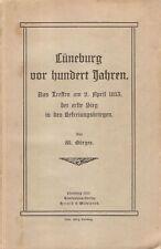 Lüneburg v. hundert Jahren. Das Treffen..1813,.. erste Sieg..Befreiungskriegen.