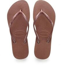 Havaianas Slim Nude Bronze flip-flops UK size 5 SALE PRICE £15.50 Limited Stock
