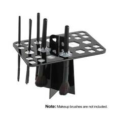 26 Hole Brush Holder Air Drying Rack Organizer Shelf Dryer Storage Stand