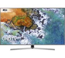 """SAMSUNG UE50NU7470 50"""" Smart 4K Ultra HD HDR LED TV - Silver"""