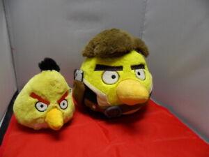 Star Wars Angry Birds Plush 8 Inch Han Solo ' 5 inch Yellow Bird
