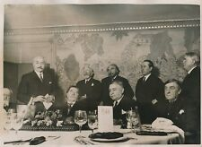 PARIS c. 1930 - Membres Académie Goncourt Restaurant Drouant- PRM 244