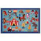 Fun Rug FT-17 3958 39 x 58 in. Fun Time - Circus Life Medium Pile Childrens A...