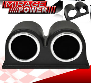 Universal Racing 52mm Abs Holder Cup Pod + Air Fuel + Water Temperature Gauge