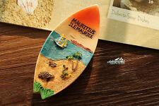 MAURITIUS Tourist Travel Souvenir Little Boat Shaped 3D Resin Fridge Magnet