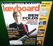 BEN FOLDS, Isaac Hayes, Yamaha Tenori-on & NP-30 Keyboard Reviewed 2008 Magazine