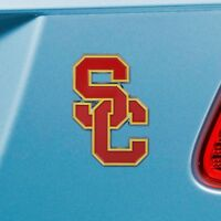 USC Trojans Heavy Duty Metal 3-D Color Auto Emblem