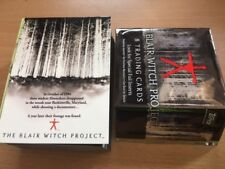 1999 Topps The Blair Witch Project Complete Set Base Cards (72) plus WRAPPER