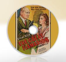 The Great Flamarion (1945) DVD Classic Drama Film / Movie Erich von Stroheim