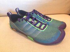 New Merrell Women's Vapor Glove 2 Barefoot Running Trail Shoe Green Purple 9