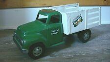 Vintage Tonka Toy Starkist Tuna Truck Toy 1954 Pressed Steel Green Pickup  rare