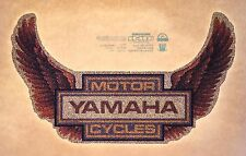 nos 70s Yamaha Wings Motorcycle Chopper Team Yz125 Yz80 vTg Orig t-shirt iron-on