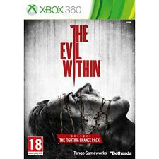 The Evil Within  Xbox 360 boxed with booklet