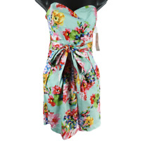 NWT Teeze Me Multicolor Sleeveless Floral Dress Junior's Size 3