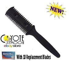 Blending Razor Comb, Hair Extensions,Home Hairdressing, Razor Cut Trim,Bangs UK