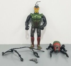 Vintage 1984 Sectaurs Skito And Toxcid With Original Accessories Gun Belt
