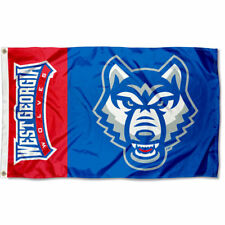 University of West Georgia Wolves NCAA Flag Tailgating Banner