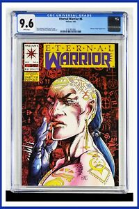 Eternal Warrior #6 CGC Graded 9.6 Valiant January 1993 White Pages Comic Book