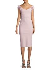 $795 PETITE ROBE di CHIARA BONI KAJSA ROSE DRESS in LIGHT PINK sz 12/48 NWT
