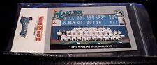 1993 FLORIDA MARLINS: Inaugural Season Pin: Winn Dixie: BRAND NEW: Baseball MLB