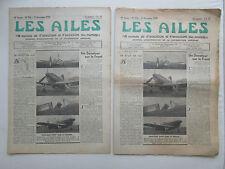 LES AILES 1939 956 GUERRE AERIENNE WWII DORNIER 215 PARACHUTE IRVIN NC-2234 KOHN