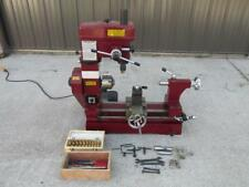 Central Machinery Multi-Purpose Lathe Mill Milling Machine Combo 3 in 1 +Tooling