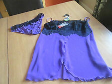 M & S purple see through Limited Collection camisole vest & knickers set size 8