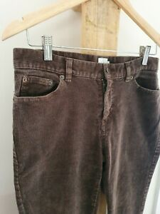 Retro Brown Corduroy Calvin Klein Flared Out Pants