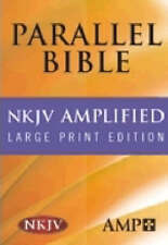 USED (GD) Parallel Bible: New King James Version/Amplified Bible  Black  Leather