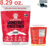 Lakanto Monkfruit Sweetener, 1:1 Sugar Substitute, Keto, Non-GMO ( 8.29 ounces)
