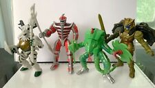Bandai Power Rangers Evil Space Aliens series 4 action figures lot used