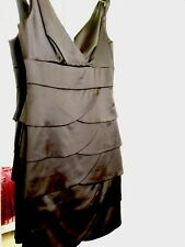Black Cocktail Review Dress Size 8 (excellent Condition)