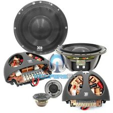 "MOREL SUPREMO 602 6.5"" PRO 2-WAY CAR AUDIO COMPONENT MIDS TWEETERS SPEAKERS NEW"