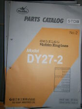 ROBIN Engines DY27-2 : Parts Catalog 08/1999