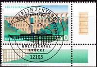 Bund 2082 , o , Eckrand mit Berliner FDC Stempel