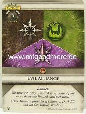 Warhammer Invasion - 1x Evil Alliance  #079