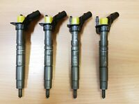 A6510702987 MERCEDES-BENZ W205 2016 2.1CDI  4x INJECTORS SET OEM 0445117035