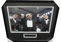 Muhammad Ali Mike Tyson Dual Signed Autographed 16x20 Photo Framed OA Don King
