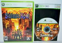 Saints Row (Microsoft Xbox 360, 2006) 1 I Complete Video Game MINT