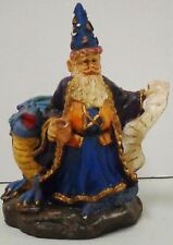 "Wizard with Dragon Porcelain Figurine (5"" High) Pre-owned"