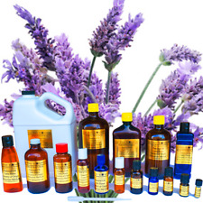 8 oz Lavender Essential Oil - 100% PURE NATURAL - Aromatherapy - Glass Bottle