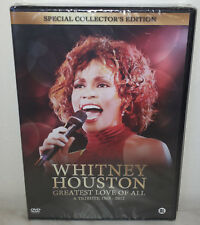 DVD WHITNEY HOUSTON - GREATEST LOVE OF ALL - NUOVO NEW