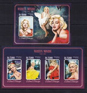 Sao Tome 2014 Marilyn Monroe actress star/ Famous people postage stamps MNH** XJ