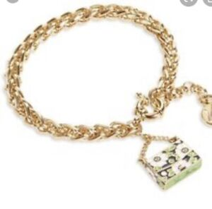 Vera Bradley Handbag Charm Bracelet  Lucky You NWT $28